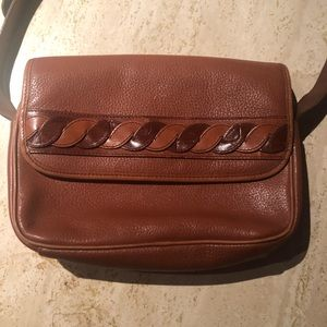 Crossbody Vintage Giani Bernini Leather Handbag